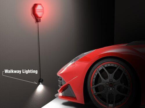 STRIKER Ultrasonic Parken Sensor Für Heim Garage Auto Carport Lager Schuppen