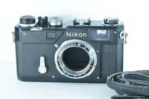 [Excellent] Nikon S3 Olympic Black Original 35mm Film Camera (ny1686)