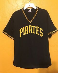 new product 30c63 90c7f Details about PITTSBURGH PIRATES 1990s BATTING PRACTICE JERSEY BOBBY  BONILLA XL