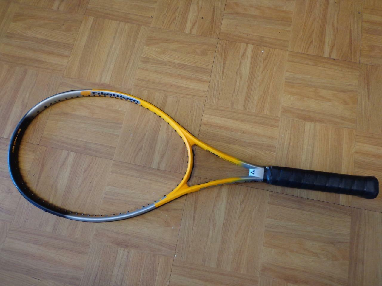 Fishcer Classic Pro Speed Titanium 95 head 4 1 2 grip nice shape Tennis Racquet