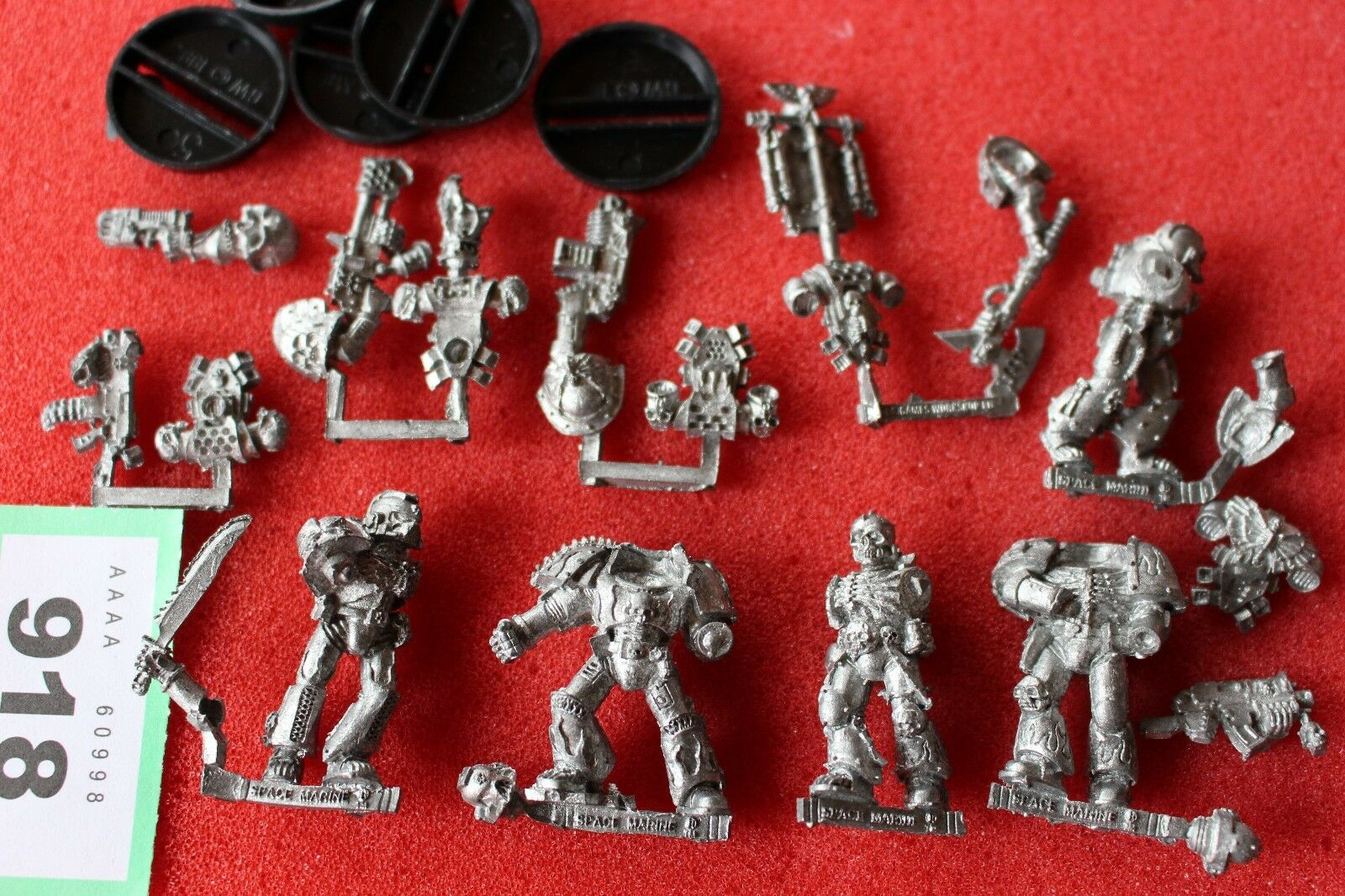 Games Workshop Warhammer 40K Legion of the Damned Legionnaires Squad Metal New