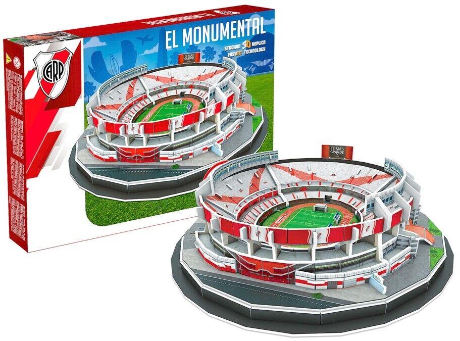River Plate El Monumental Stadium 99pc 3D jigsaw puzzle 32cm x 25cm x 11cm