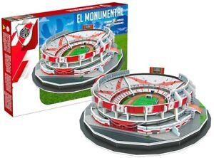Rio-Placa-El-Monumental-Estadio-99pc-3D-Puzle-Rompecabezas-32cmx-25cmx-11cm