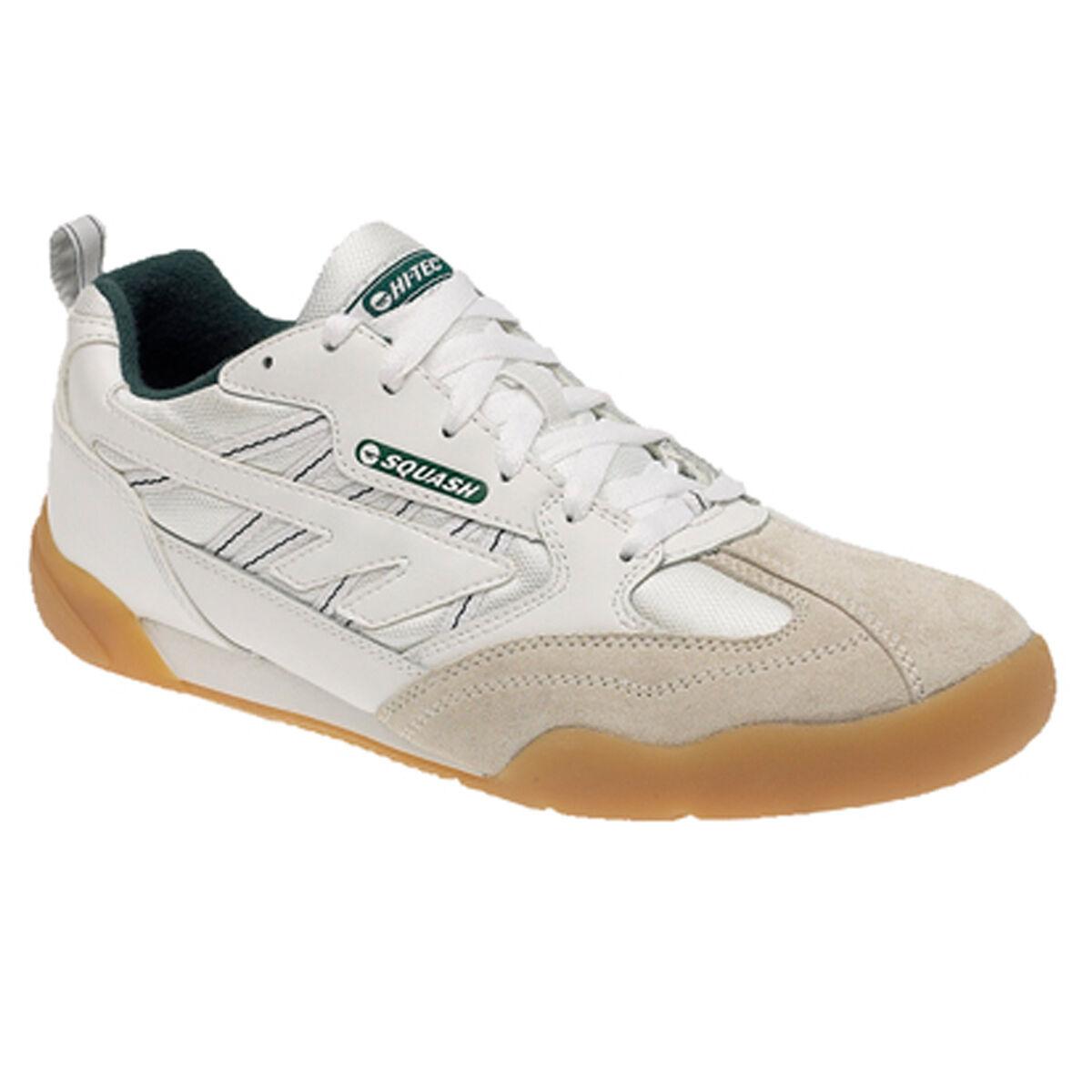 Uomo Hi-Tec Indoor Sport Squash Tennis Palestra Corsa con Lacci | Nuovo design  | Uomo/Donne Scarpa