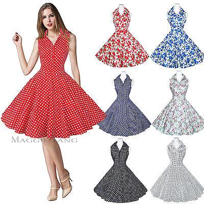 Maggie Tang 50s 60s Pin up Vintage Dancing Swing Jive Rockabilly Dress Skirt 530