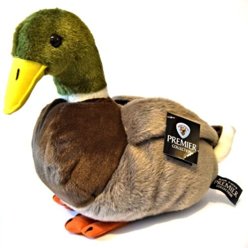 30cm Mallard Duck Soft Toy 0+ Suitable for all ages Plush Cuddly Animal