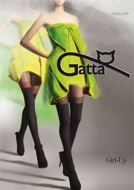 Sexy Strumpfhose Fantasia Girl-UP 19 von Gatta in Overkneelook
