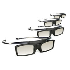 4x 3D Glasses for Samsung LED Plasma TV HU8550 D8000 F7100 JU7500 HU9000 F8000
