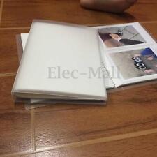 KICUTE 80 Pockets Photo Album Book Storage For Polaroid 600 SX70 Fuji 210 Film