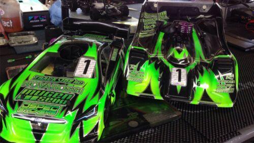 XRAY RC CAR STICKER SET VINYL DECAL T4 1//10 4WD GREEN DRIFT A4 TAMIYA HPI R//C