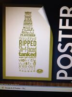 The Chive Authentic Poster Drunk A-z 24 X 36 Kcco
