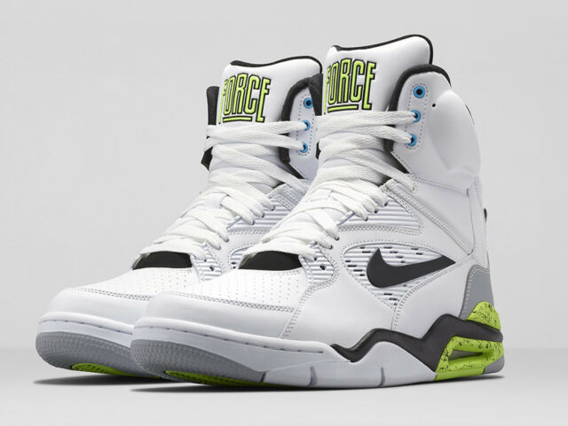 DS Nike Air Command Force Billy Hoyle Retro 684715 100 White Volt Size 15 2014