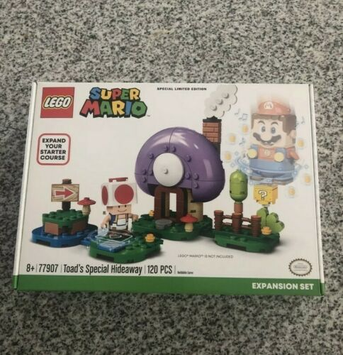 Lego Toad's Special Hideaway 77907 Super Mario Expansion Limited Edition NEW!!!