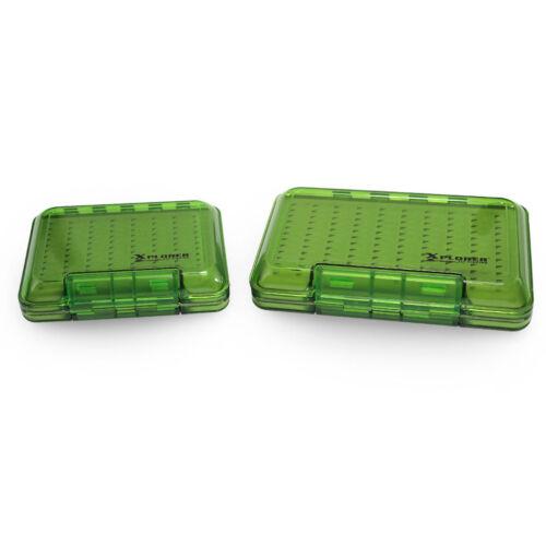 Xplorer Translucent Green Waterproof Fly Box Xplorer Fly fishing