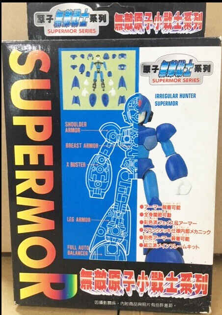Megaman Rockman X3 SuperMor Series Irregular Hunter Model Kit Figure Free Ship