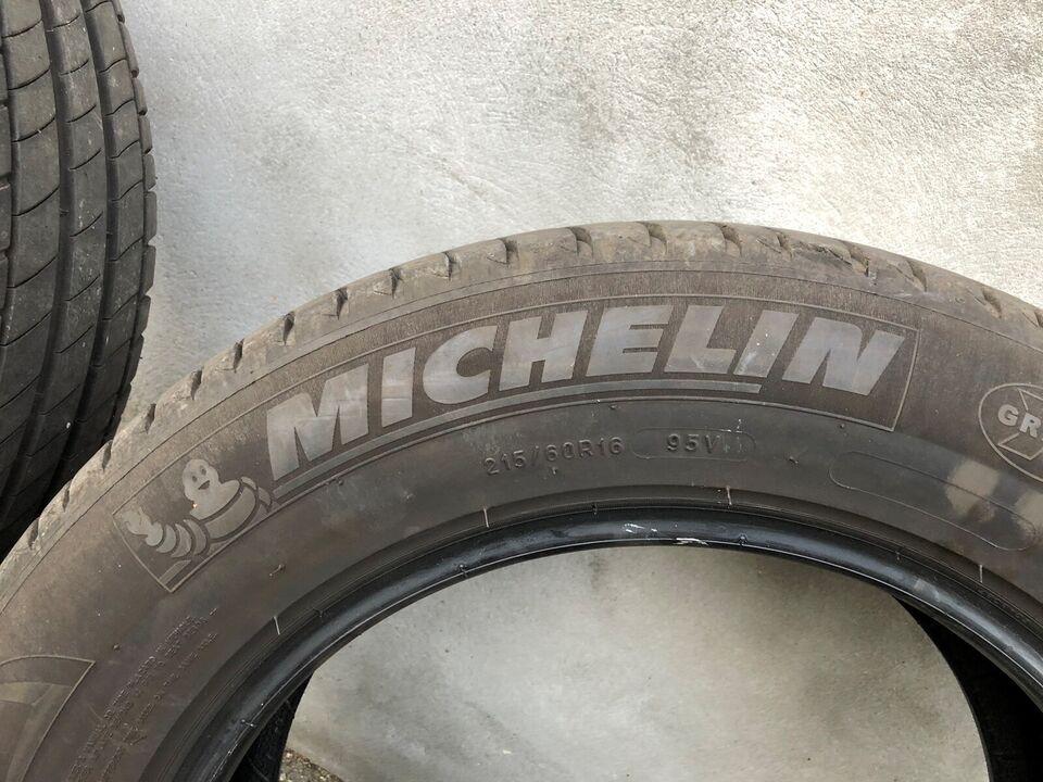 Sommerdæk, Michelin, 215 / 60 / R16