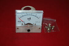AC 5mA Analog Ammeter Panel AMP Current Meter 85C1 0-5mA AC directly Connect
