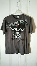 GREEN DAY TOUR TEE 21ST CENTURY BREAK DOWN LARGE GRAY SHORT SLEEVE GRAPHIC
