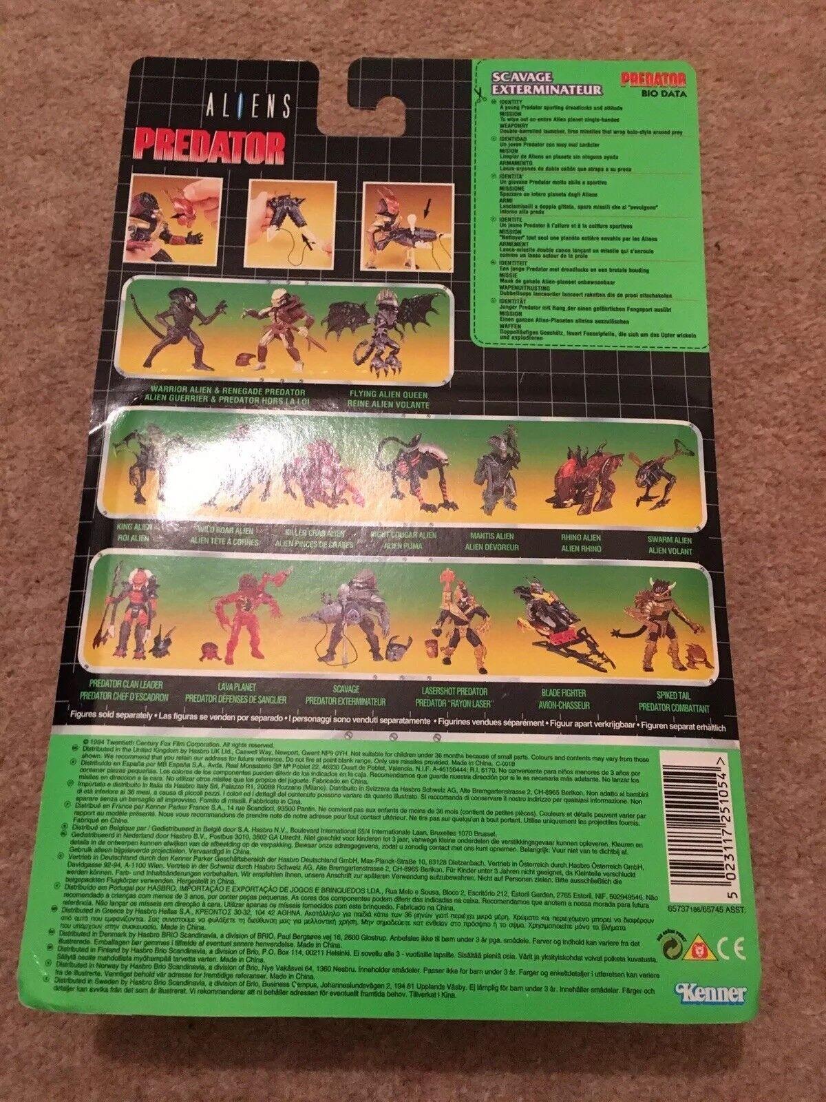 Aliens PROTator Scavage Scavage Scavage Exterminateur 1994 MOC 530ea5
