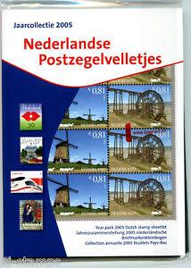Nederland-TPG-jaarcollectie-velletjes-2005-AANBIEDING