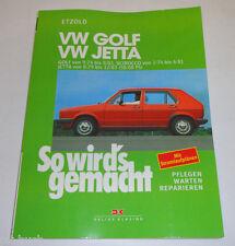 Reparaturanleitung VW Golf I / VW Jetta I / VW Scirocco I - ab 1974!