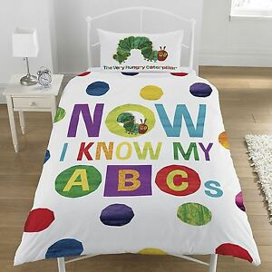 The-Very-Hungry-Caterpillar-Set-Housse-de-couette-simple-literie