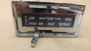 55-1956-57-THUNDERBIRD-ORIGINAL-DASH-HEATER-CONTROL