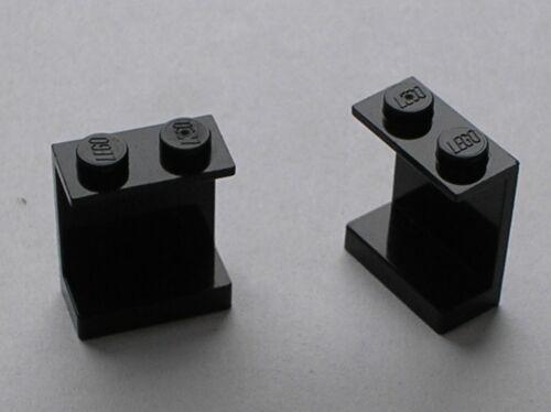 2 x LEGO black panel 4864a Set 6984 6941 6889 6286 5571 5581 6861 ...