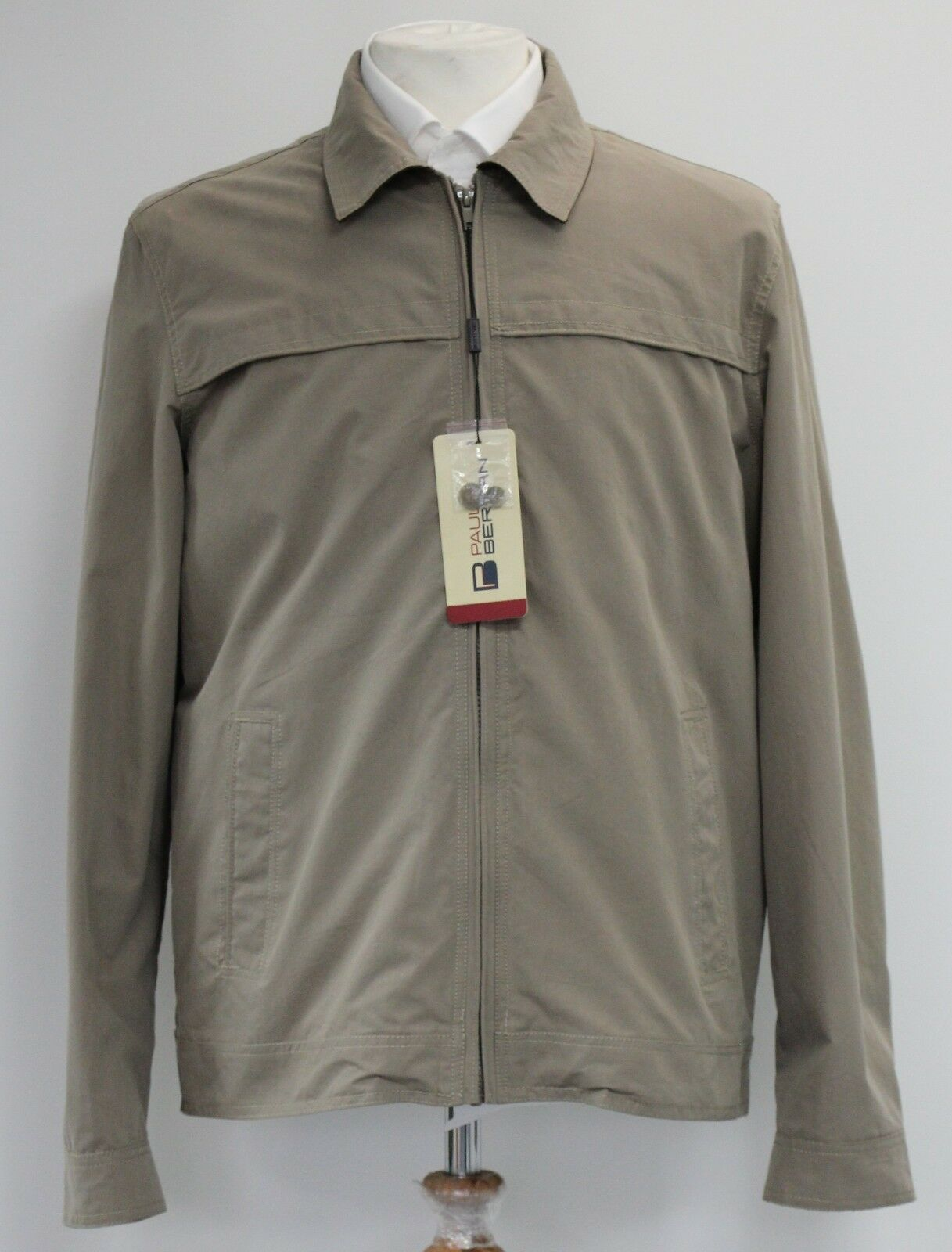 Men's Paul Berman Beige lightweight coat (XL).. sample 1606