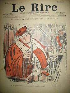 LE-RIRE-N-360-CARICATURE-GARDE-DES-SCEAUX-DESSINS-JEANNIOT-MEUNIER-HEINE-1901