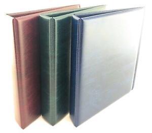 Coingallery-Acolchado-Moneda-Anillo-Carpeta-Album-con-1-Pack-Faro-Numis-Paginas