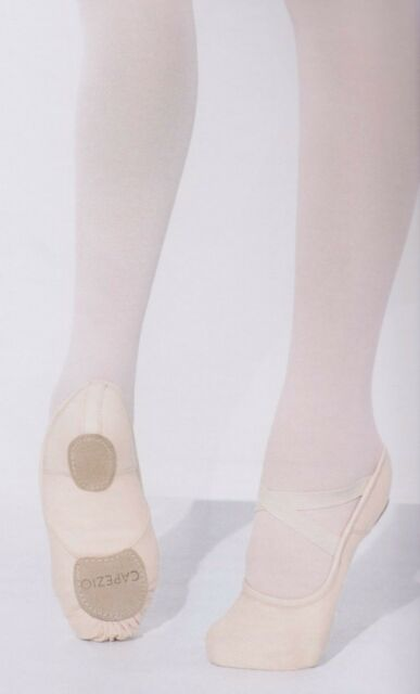 b1995ffb3 Capezio 2037w Pink Stretch Canvas Soft Ballet Shoes Hanami Shape 5 ...