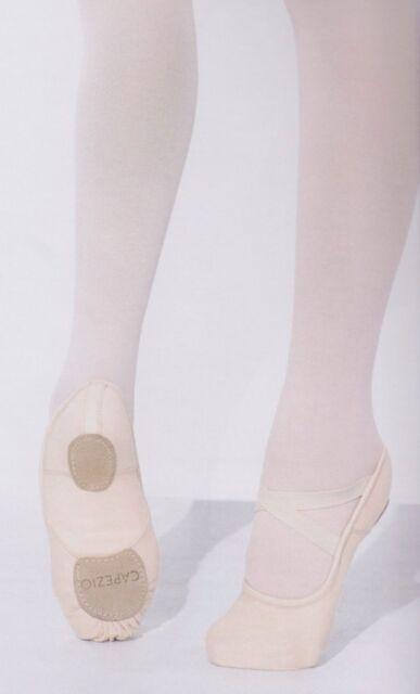 fb8c14dcc5c Capezio 2037W pink stretch canvas soft ballet shoes Hanami beautiful shape  New