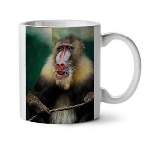 Wild Animal Monkey NEW White Tea Coffee Mug 11 oz | Wellcoda