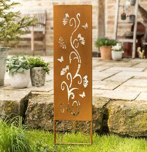 Détails sur Métal Jardin Connecteur lianes-décor jardin déco maison de  campagne Edelrost Cadeau Idée -- afficher le titre d\'origine