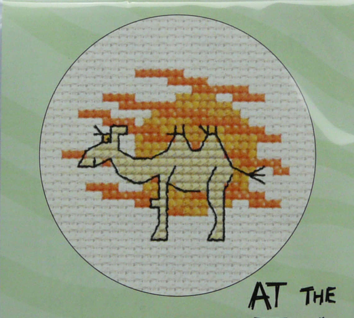 NEW MOUSELOFT BY THE SEASIDE AT ZOO STITCHLET COUNTED CROSS STITCH KIT MINI PYO