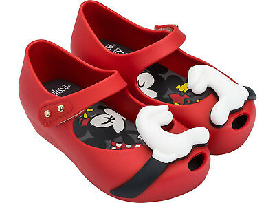 toddler size 5-10 Disney Mary Jane in Red Genuine NEW Mini Melissa Ultragirl