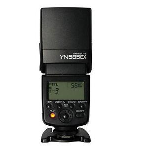 YONGNUO YN585EX TTL Flash for Pentax K5 K7 K30 KR K20D K1 K3II KS2 K50 Camera +