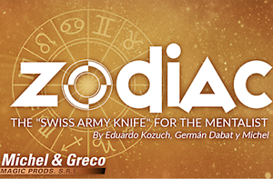 Gimmicks and Online Instructions The Zodiac by Vernet