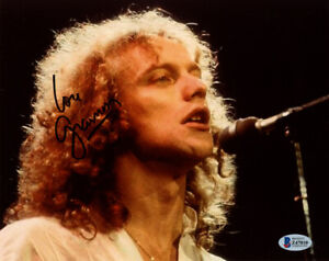 LOU GRAMM SIGNED AUTOGRAPHED 8x10 PHOTO FOREIGNER LEAD SINGER BECKETT BAS