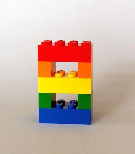 niños Aniversario Decoración de mesa colores niños Lego Cumpleaños Pastel Número Toppers