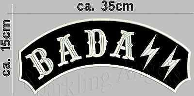 Badass Schiena Patch Ricamate 35x15cm- Rendere Le Cose Convenienti Per I Clienti