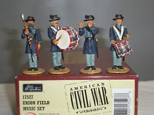 Britains 17527 Union Field Music Américain Guerre Civile En Métal Jouet Soldat Figure Set 36881175278