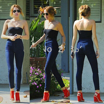 Women's Slim Fit Casual Stretch Skinny Leggings Pencil Pants Trousers