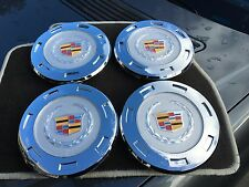 "NEW 4PC SET 2007-2014 CADILLAC ESCALADE 22"" WHEELS COLOR CENTER HUB CAPS 9596649"