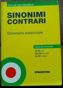 SINONIMI-E-CONTRARI-Dizionario-essenziale-DeAgostini-2005