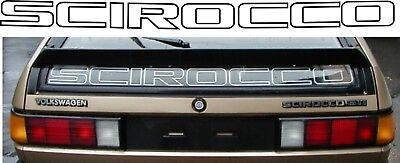 Kraftvoll Vw Mk2 Scirocco Heckfenster Heck Abziehbild Restaurierung Ersatz