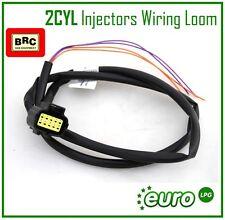 Brand New BRC 2CYL Injectors Wiring Loom LPG AUTOGAS Installation