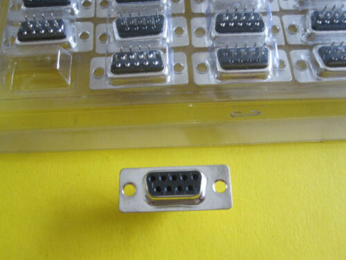 3 ITEMS CONNECTOR FEMALE 9 PINES DB9