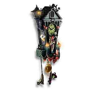 image is loading nightmare before christmas halloween town cuckoo clock new